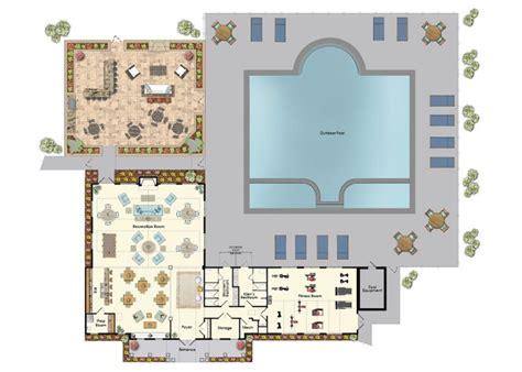 clubhouse floor plans clubhouse plans designs escortsea