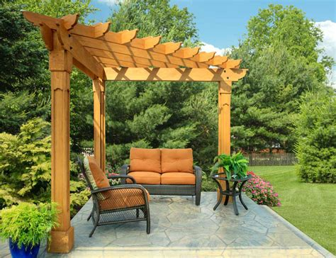building a pergola arbor or trellis costs considerations
