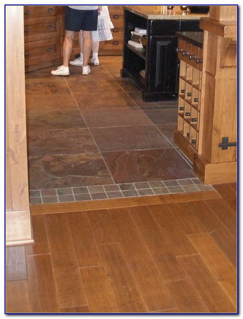 Floor Transition Ideas Floor Transition Tile To Wood Flooring Home Decorating Ideas 1dzpa06o0a