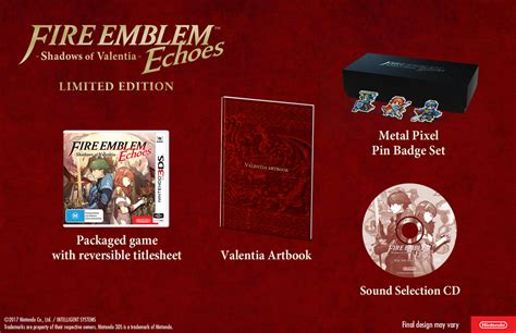 Amiibo Celica Emblem Echoes Shadows Of Valentia emblem echoes shadows of valentia limited edition confirmed for australia vooks