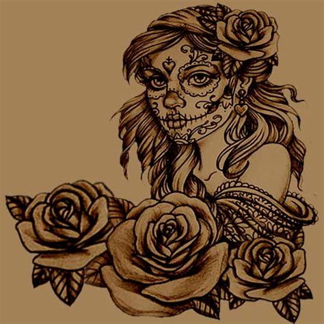 how to create your own sugar skull tattoo full tattoo