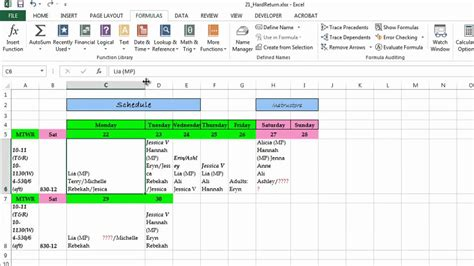 How Do You Do Excel Spreadsheets by How Do You Make A Return At The End Of Every Line On