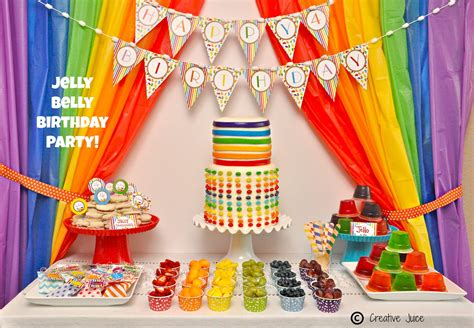 themed birthday parties birthday party themes rainbow themed birthday party