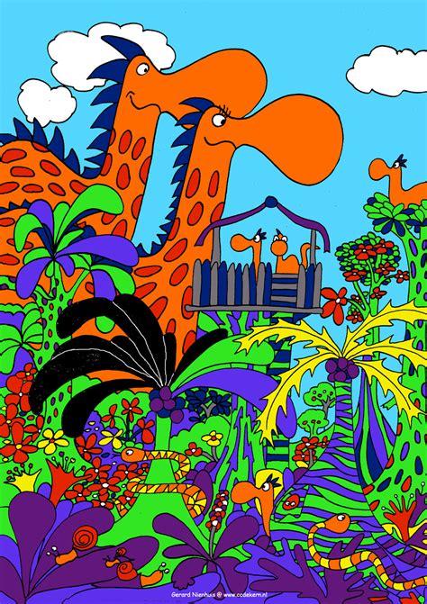 dino doodle dino color doodle 038 b by gerardnienhuis on deviantart
