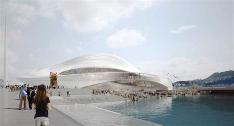 who designed opera house busan opera house competition korea design contest e architect