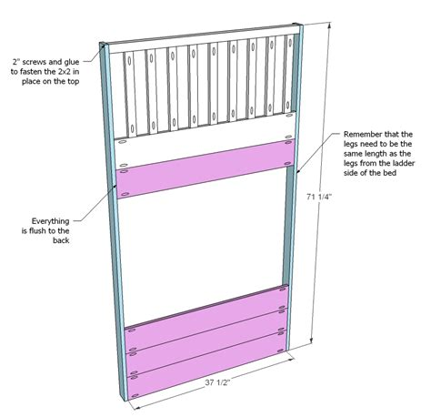 white cottage loft bed diy projects