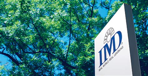 Imd Mba Tuition by Imd Executive Education Origins And History Of Imd