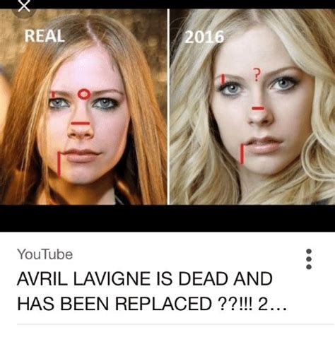 Avril Lavigne Meme - real 2016 youtube avril lavigne is dead and has been