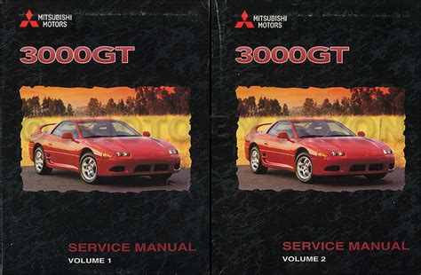 motor repair manual 1998 mitsubishi gto free book repair manuals 1998 mitsubishi 3000gt original repair shop manual set