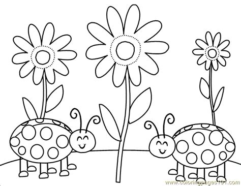 free a bug coloring pages