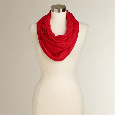 jersey burnout infinity scarf world market