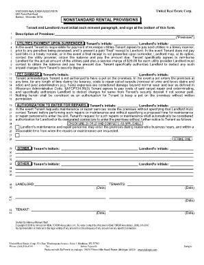 Bill Of Sale Form Wisconsin Residential Lease Agreement Template Fillable Printable Sles Wisconsin Residential Lease Agreement Template