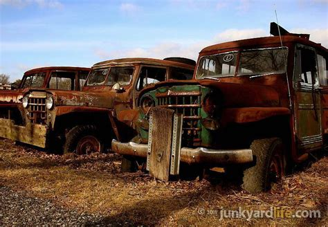 Jeep Salvage Yards In Pa Junkyard Classic Cars Cars Barn Finds