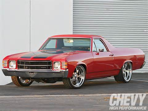 1971 Chevrolet El Camino All Chevy Cars And Trucks News Reviews Chevy