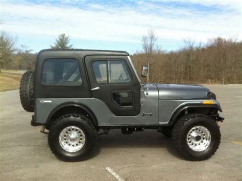 Used Jeeps For Sale In Ky Find Used 1983 Jeep Cj5 In Bowling Green Kentucky United