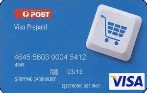 Visa Gift Card Australia - gift card australia post visa australia col au visa 003
