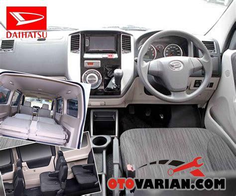 Daihatsu Luxio Interior by Spesifikasi Mobil Daihatsu Luxio Dan Harga Baru Bekas Juni