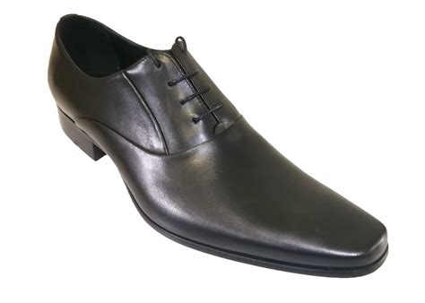 lacuzzo formal dress shoe in black