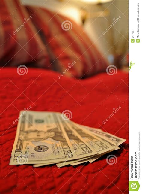 money bed money on the bed stock image image 9477771