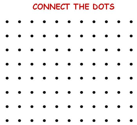 printable dot to dot game connect the dots
