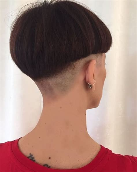 haircut bob undershave 600 best exeteme hair cuts for girls images on pinterest