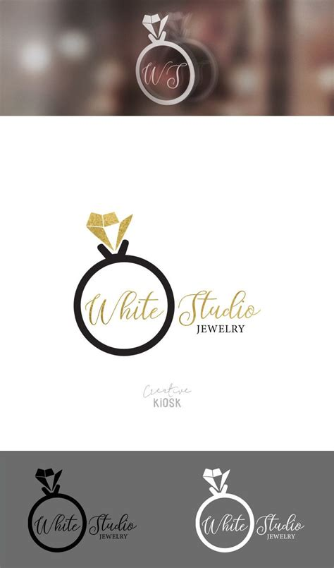 Instant Ring 3 ring logo instant logo diy logo design