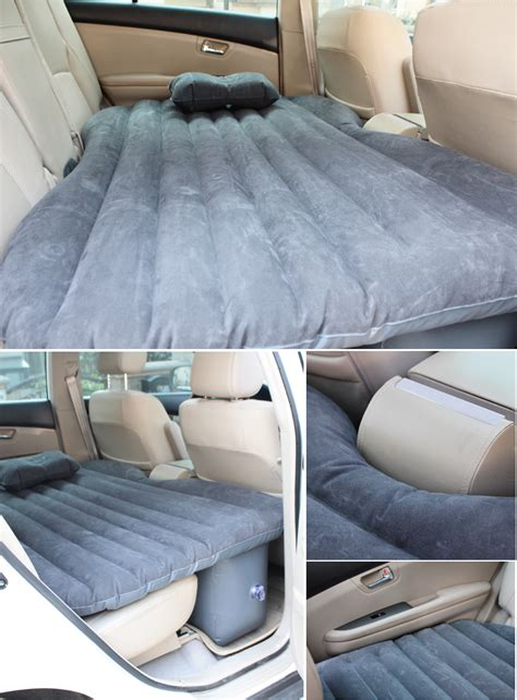 comfortable car back seat air bed mattress for