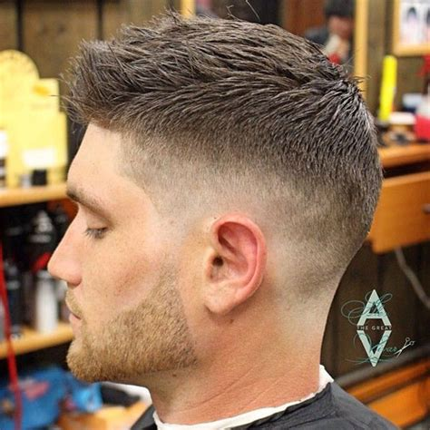 faded sides short on top haurstyle low fade vs high fade haircuts
