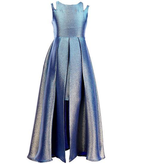 Bjg Blue Dress dillards dresses oasis fashion