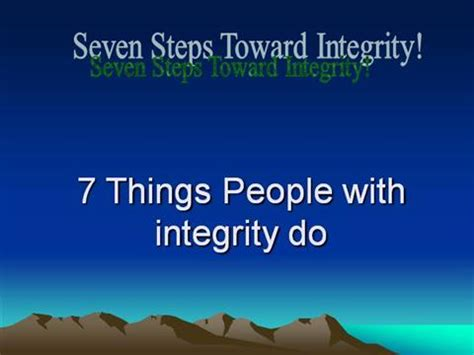 exle of integrity exles of integrity for search engine at
