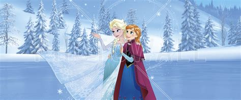 frozen wallpaper for walls frozen sisters are magic wall mural photo wallpaper