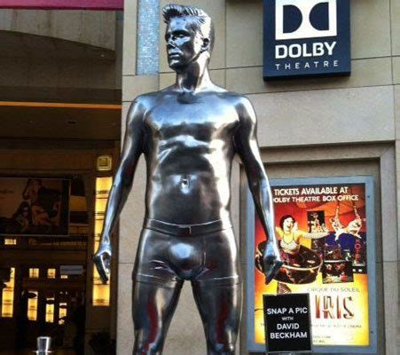 Beckham Immortalized by David Beckham Has Been Immortalised In All His Hotness