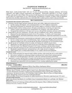 writing a competency based resume