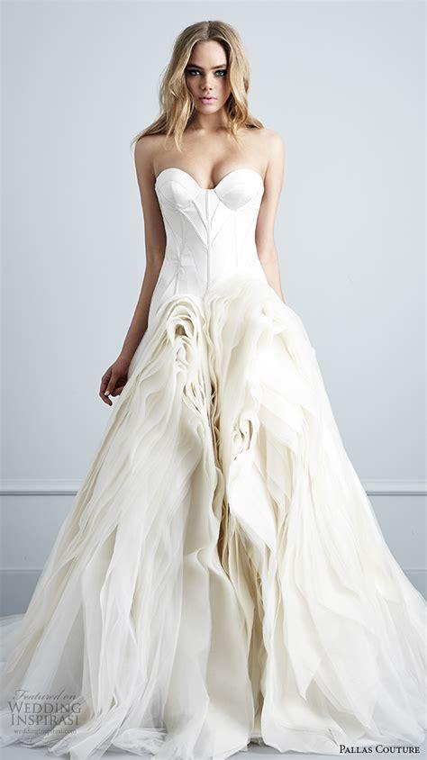 couture wedding gowns pallas couture 2016 wedding dresses la haute bijoux