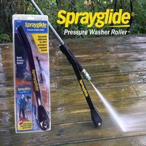 sprayglide pressurewasherroller dramatically improves