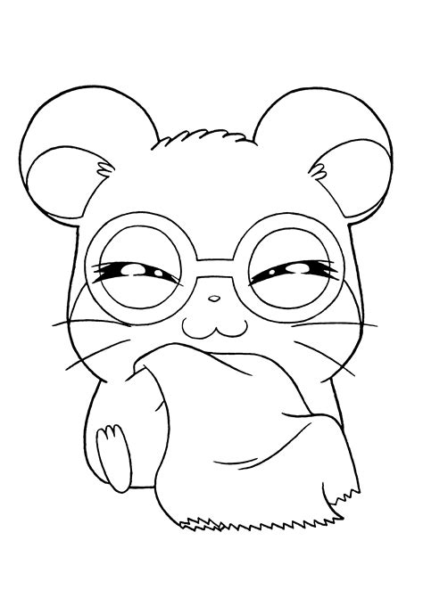 hamtaro coloring pages hamtaro coloring pages