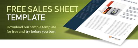 Free Sales Sheet Template New Calendar Template Site Sell Sheet Template Free