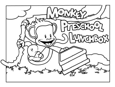 monkey coloring page preschool 8 best community helpers images on pinterest