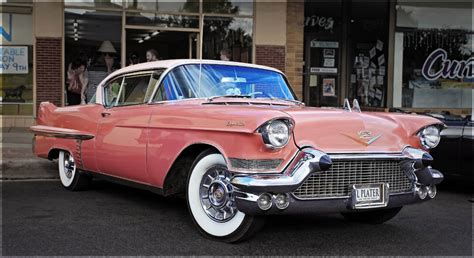 cadillac pink pink cadillac 1957 cadillac coupe de ville in march