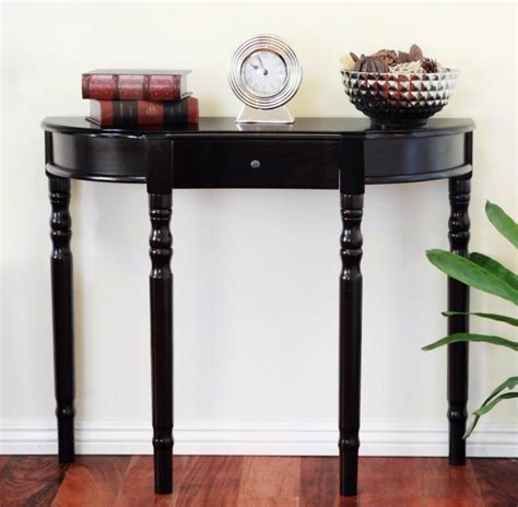 Half Table For Hallway Hallway Furniture Black Half Narrow Hallway Table Hallway Furniture Hallway Furniture Bench