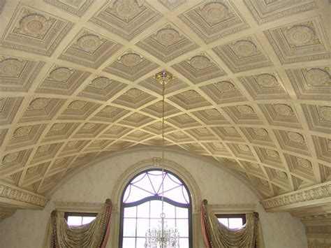 Barrel Vaulted Ceilings by Coffered Barrel Vault Our Work