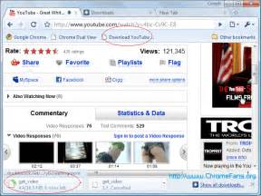 Google chrome bookmarklet download youtube videos in google chrome
