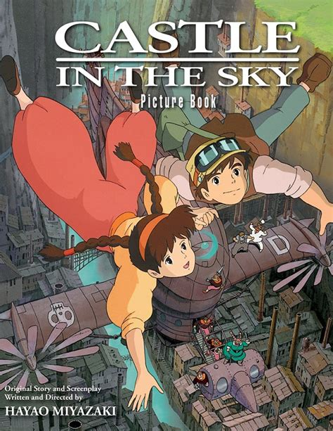 castle in the sky picture book books viz to release mononoke castle in the sky picture books