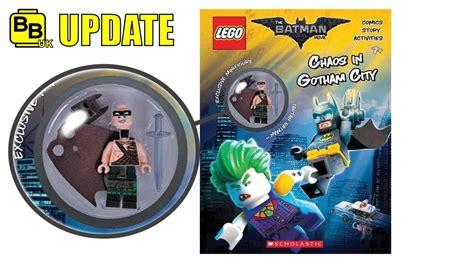 Lego Batman Tartan lego 2017 the batman book with exclusive tartan