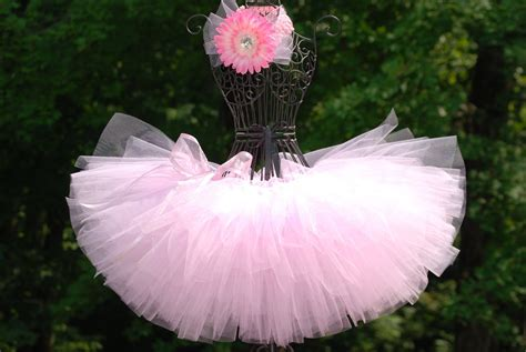 Tutu Pink by Tutus Light Pink Tutu Ballerina Tutu Custom By