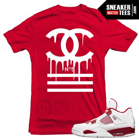T Shirt Nike Just Fly Maroon Anime t shirts to match 4 alternate 89 sneaker match tees