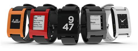 Smartwatch Pebble pebble smartwatch in or black 90 shipped 60 with edu email 120w o 9to5toys