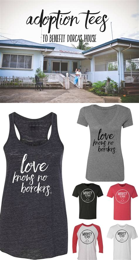 dorcas house adoption tees are back