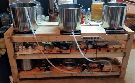 homebrew air inductor three vessel induction brewing system homebrewtalk