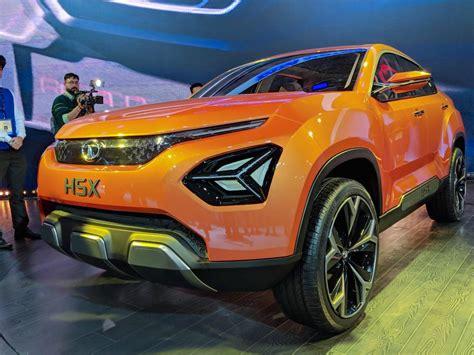 tata motors uing suv tata h5x concept auto expo 2018 live